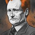 Conan O'brien Artwork by Sheraz A