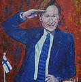 Conan O'brien Flagging Finland by Raija Merila