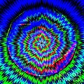 Concentric Hypnotic Circles 1 by Saundra Myles