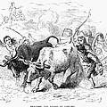 Concord: Evacuation, 1775 by Granger