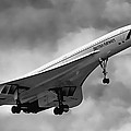 Concorde Supersonic Transport S S T by Wes and Dotty Weber