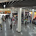 Concourse At People's Square Subway Station Shanghai China by Imran Ahmed