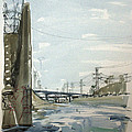 Concrete Los Angeles River by Vaughan Davies