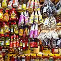 Condiments At Mercade Municipal by Julie Niemela