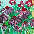 Coneflowers by Victoria Hasenauer