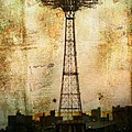 Coney Island Eiffel Tower by Jon Woodhams