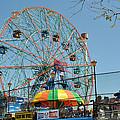Coney Island Wonder Wheel by Diane Lent