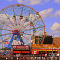 Coney Island Wonder Wheel by Dora Sofia Caputo Photographic Design and Fine Art