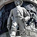 Confederate Soldier II Alabama State Capitol by Lesa Fine
