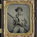 Confederate Soldier With Shotgun by History Cases