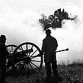 Confederate Twelve Pounder Fired - Perryville Ky by Thia Stover