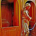 Confessional Halo by Elvis Vaughn