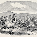 Conflict Between The 10th Hussars And Cossacks by English School