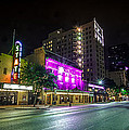 Congress Street In Downtown Austin by David Morefield