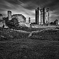 Conisbrough Castle Doncaster by Ian Barber