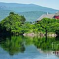 Connecticut River Farm II by Edward Fielding