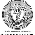 Connecticut State Seal by Granger