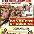 Conquest Of Cochise, Us Poster, Top by Everett