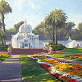 Conservatory Of Flowers - Golden Gate Park by Armand Cabrera