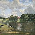 Constable's Wivenhoe Park In Essex by Cora Wandel