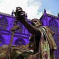 Constantine The Emperor At Yorkminster by Pamela Smale Williams