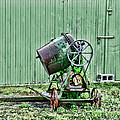 Construction - Cement Mixer by Paul Ward