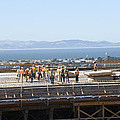 Construction Continues On The Last Few Feet Of The New Oakland Bay Bridge by Scott Lenhart