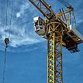 Construction Crane Asia by Antony McAulay