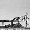 Construction Of The Eastern Span San Francisco Oakland Bay Bridge June 29 1930 by California Views Archives Mr Pat Hathaway Archives