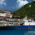 Container Ship St Maarten by Amy Cicconi