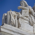 Contemplation Of Justice 1 by Jerry Fornarotto