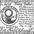 Continental Banknote, 1775 by Granger