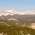 Continental Divide Rocky Mountain Snowy Peaks Panorama Pt1 by James BO Insogna