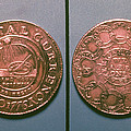 Continental Dollar, 1776 by Granger