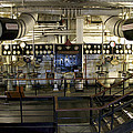 Control Board Engine Room Queen Mary Ocean Liner Long Beach Ca by Thomas Woolworth