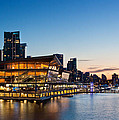 Convention Centre Sunset by Alexis Birkill
