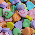 Conversational Hearts by Diana Haronis
