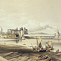 Conway Bridge, Construction Of Second by George Hawkins