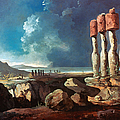 Cook: Easter Island, 1774 by Granger