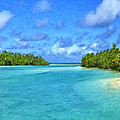 Cook Islands Lagoon by Dominic Piperata