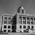 Cooke County Courthouse Bw by Robyn Stacey