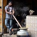Cooking Breakfast Early Morning Lahore Pakistan by Imran Ahmed