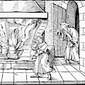 Cooking Roast, C1530 by Granger