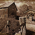 Cook's Old Mill 1857 by Regina  Williams