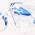 Cool Motorcycle by Tap On Photo