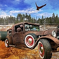 Cool Rusty Classic Ride by Liane Wright