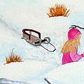 Cool  Winter Friend - Snowman - Fun by Barbara Griffin