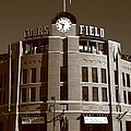 Coors Field - Colorado Rockies 20 by Frank Romeo