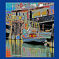 Coos Bay At Berth by Joseph Coulombe