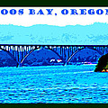 Coos Bay Oregon by Joseph Coulombe